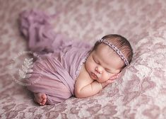 Newborn girl in lavender - Need to find some pretty lace @Nikki Dimmock