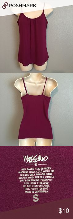 ✨Cute Mauve Mossimo Tank Top!✨ ✨Cute Mauve Mossimo Tank Top with gathered ruffled front & adjustable straps! In Excellent Condition! Size-Small.✨ Mossimo Supply Co Tops Tank Tops