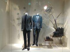 Hugo Boss Dandelion Window Display