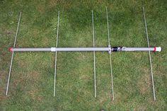 144MHz 2m Portable Yagi Beam Antenna Construction