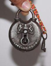 Rare Antique Tildesley No. 940 Ring Lock with Working Key Iron padlock Antique Door Knockers, Knobs And Knockers, Knobs And Handles, Antique Keys, Vintage Keys, Rare Antique, Under Lock And Key, Key Lock, 24 Hour Locksmith