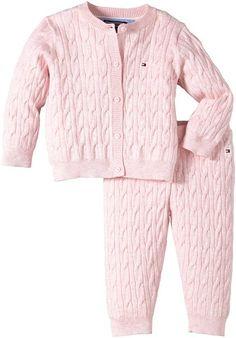 Tommy Hilfiger Baby Boys 2 Piece Cable Suit Clothing Set: Amazon.co.uk: Clothing