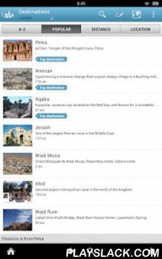 Jordan Travel Guide By Triposo  Android App - playslack.com , Features of Triposo's guide to Jordan:★ Suggestions of what's interesting to see and do in Jordan, depending on time, weather and your location;★ A detailed sights section with all the monuments of Amman, Aqaba, Madaba;★ Eating out section with the best restaurants in Amman, Aqaba, Madaba;★ Discover the nightlife of Jordan! Bars, pubs & disco's in Amman, Aqaba, Madaba;★ Book hotels in Jordan directly from the app (when…