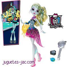 Monster High Lagoona Blue disco de Mattel.