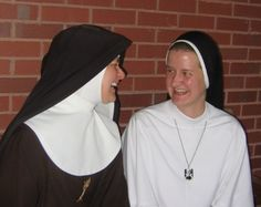 A Poor Clare of Perpetual Adoration and a Dominican Sister of Mary, Mother of the Eucharist--and they're TWINS!