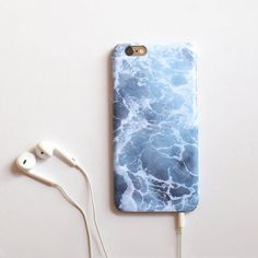 Ocean iPhone 6 plus case  blue wave  embre blue  by IsolateCase