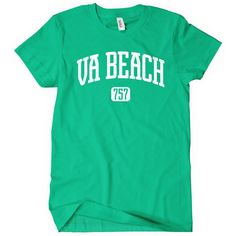 Women's Virginia Beach 757 T-Shirt Size 2xl Virginia Ladies Tee Teal ($14) ❤ liked on Polyvore featuring tops, t-shirts, black, women's clothing, beach tees, teal tops, beach t shirts, checkered top and beach tops