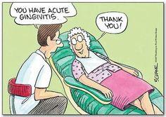 Funny and cute dental humor. #dentalhumor