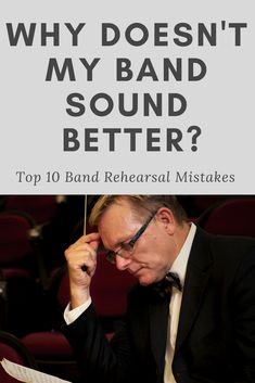Band Directors, click here for an excellent article on the SmartMusic blog.  Learn how to improve your band rehearsals by talking less, learning from mistakes, getting focused, improving sectional work, improving your routine and more!  A must-read!  #banddirector #smartmusic