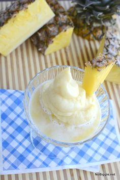 3 ingredient Pineapple Whip