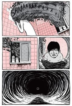 My personal favorite page from The Tunnel (read the whole thing here) ryan andrews