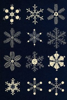 The illustrative plates from Snowflakes: a Chapter from the Book of Nature (1863), a collection of poems, extracts, anecdotes and reflections on the theme of snow and the snowflake. See more at the link. || Public Domain Review