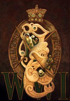 maori battalion ww1 - Google Search Long White Cloud, Maori Designs, Maori Art, Kiwiana, Lest We Forget, Mamma Mia, Wwi, Badges, Soldiers