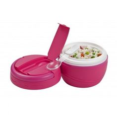 Food will stay warm or cool in this insulated container from Polar Gear. Measuring Cups, Container, Lunch, Eat, Pink, Debenhams, Food, Measuring Cup, Eat Lunch