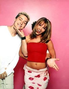 Lance Bass and Britney Spears