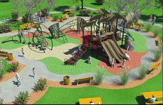 Image result for children's playground design