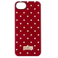 Adorn your iPhone with our classic Mini Dot print and keep it safe from anything nasty in this hardwearing case. The fun design will make it easy to spot in your handbag and save you from missing any of those important calls!