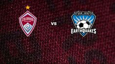 Tune in this Sunday at 7 PM as your Rapids take on the Earthquakes!