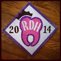 Finally A Registered Dental Hygienist Congratulations To The Class Of Tooth Thousand Sixteen This Is My Graduation Cap Materials Purchased At Th