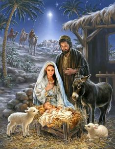 Remember the true meaning of Christmas with this beautiful puzzle. This gorgeous piece of artwork depicting the birth of Jesus and the coming of the 3 wise men is a truly awe-inspiring puzzle. Springbok Savior is Born Jigsaw Puzzle Christmas Nativity Scene, Christmas Scenes, Christmas Pictures, Christmas Crafts, Nativity Scenes, Xmas, Nativity Scene Pictures, The Nativity, Christmas Printables