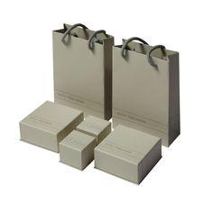 Retail packaging set