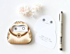 Featured - Glorious Mess Daruma Lasercut Goal Setter | DESIGN IS YAY