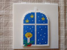 Window - Christmas hama mini beads by mona