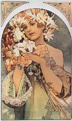 Alphonse Mucha - Blume