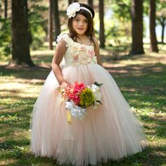 Blush Flower Girl Dress…Vintage Pageant Dress...Custom Flower girl Dress…Vintage Junior Bridesmaid