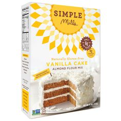 Vanilla Cake Mix @thehealthyapple @simplemills