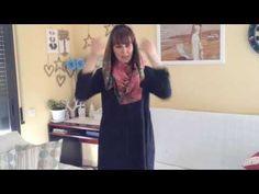 Как сделать из шарфа капюшон легко и просто - YouTube