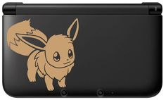Eevee Decal for 3DS Etsy $7.00. In white.