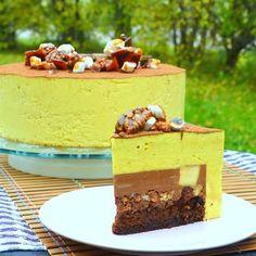 Russian Cakes, Mousse Cake, Cake Recipes, Bakery, Cheesecake, Birthday Cake, Pudding, Food Ideas, Kitchen