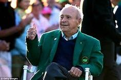 The King at the 2016 Masters.