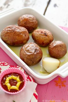 How to make the Perfect Baked Potato on FamilyFreshCooking.com © MarlaMeridith.com