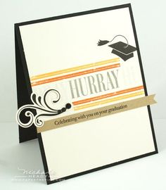 Graduation card by Nichole Heady for Papertrey Ink (January 2012).