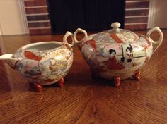 A personal favorite from my Etsy shop https://www.etsy.com/listing/266614341/antique-japanese-satsuma-5-footed