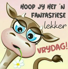 Good Morning Wishes, Morning Messages, Lekker Dag, Afrikaanse Quotes, Goeie Nag, Goeie More, Happy Friday, Fictional Characters, Van