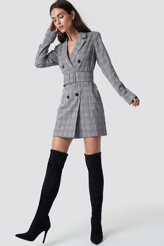 new concept 8cb81 e8b18 Overknee Front Seam Boots NA-KD.COM Shoes Heels Pumps, Women s Stilettos,