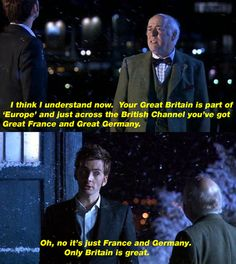 This was such a good episode... the laughter and tears... ah, Doctor Who... :)