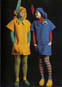 Kenzo, Ensembles, Fall/Winter 1971