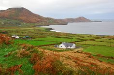 Derrynane, Ring of Kerry, Ireland.  This is the area where the cottage we rented was located.