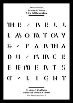 Pantha du Prince & the Bell Laboratory, designer unknown