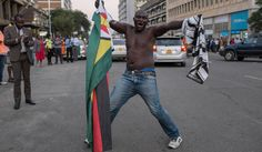 Zimbabwe: Ecstatic Zimbabweans let out a sigh of relief as Mugabe finally resigns | Africa | Daily Maverick