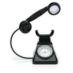 Toh Querendo: DESPERTADOR LUMINARIA TELEFONE RETRO