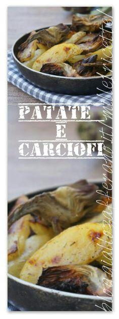 Patate e carciofi al forno  Io la uso come il secondo. Molto buono http://blog.giallozafferano.it/mille1ricette/patate-e-carciofi-al-forno/
