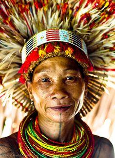 Mentawai woman, Indonesia