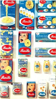 Barilla, immagine pubblicitaria, 1960