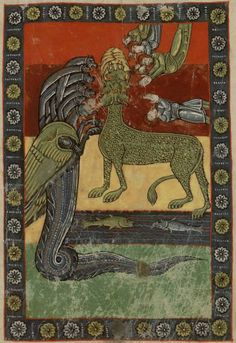 Commentary on the Apocalypse (Commentaria In Apocalypsin), Beatus Libanensis, 8th C.