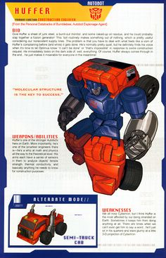 Transformer of the Day: Huffer